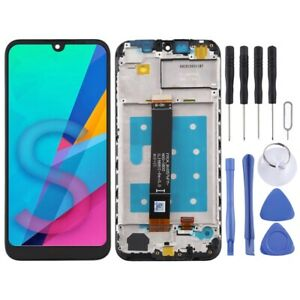 For Huawei Honor 8S LCD Screen Touch Digitizer Assembly With Frame BLACK