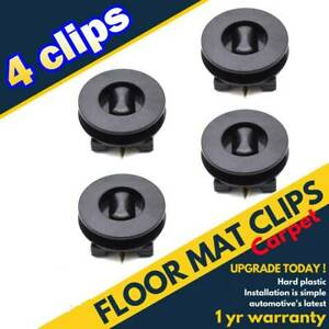 Universal Car Floor Mat Holders Sleeves Carpet Clip Fixing Grips Clamps Fastener