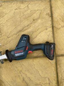 Bosch GSA 18 V-LI C Reciprocator Cordless Sabre Saw With 4.0ah Pro Core Battery