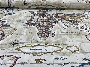 Atlas Antique Cotton Fabric By Prestigious Textiles