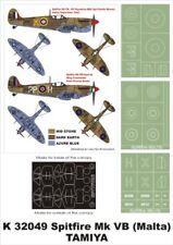 Montex Super Mask 1:32 Spitfire Mk.VB Malta for Hasegawa Kit #K32049