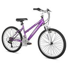 "Kent Terra 2.4 - 24"" Girls Mountain Bike 21 Speed - Purple"