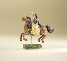 Jim Shore SNOW WHITE Princess Carousel Horse Disney Traditions 4011746