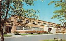 LOUDONVILLE, NY  New York   STATE POLICE HEADQUARTERS  On Route 9  1965 Postcard
