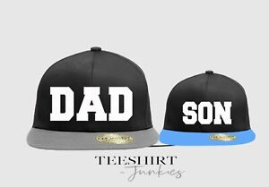 Dad and Son snapback caps matching Daddy Boy Father's Day caps BC610C - BC615
