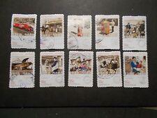 2009 Australia Self Adhesive Post Stamps~Postal Services~Fine Used, UK Seller