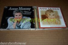 Anne Murray NM 2 x2 = 4 CD Lot What A Wonderful Christmas & World 54 Songs