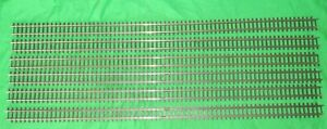 """6 Triang OO gauge Super 4 R489 long 26"""" straight track"""