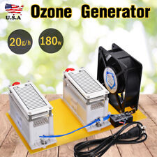 20g/h 110V Ozone Generator Air Filter Disin-fection Machine Purifier Fan Us