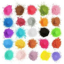 25 Natural Mica Powder Pigment Diy Soap Nail Art Wax Candle - Next Day Delivery