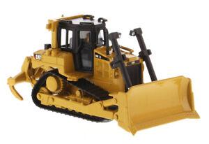 DM 1/64 Caterpillar D6R Track-Type Tractor Dozer Diecast Engineering Vehicle Toy