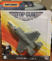 TOP GUN MAVERICK DIE-CAST LOCKHEED MARTIN F-35 B Fighter 2020 MATCHBOX RARE NEW
