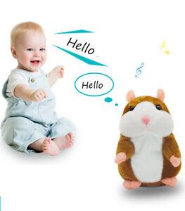 16cm Lovely Talking Hamster Speak Talk Record Repeat Stuffed Children's Gifts