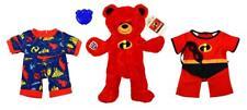 NEW Build a Bear Disney Incredibles 2 UNSTUFFED Bear w Costume Jumper Sound Box