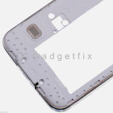 White Samsung Galaxy S5 G900H G900M G9001 Back Middle Frame Camera Lens Speaker