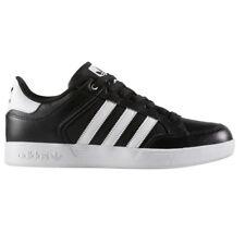 adidas Varial Low Schwarz Herren Sneaker Schuhe Skaterschuh Leder Schwarz BY4055