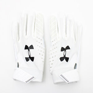 Houston Texans Under Armour  Gloves - Receiver Men's White New with Tags