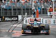 Jean Eric Vergne firmato 12x8, F1 TORO ROSSO STR7, MONACO GRAND PRIX 2012.