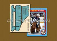 Gord Laxton - Pittsburgh Penguins - Custom Hockey Card  - 1978-79