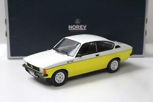 1:18 Norev Opel Kadett GT/E C-Coupe 1977 white/ yellow