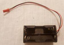 Receiver Bat BEC Battery Pack Case Box 4 x AAs Nitro RC