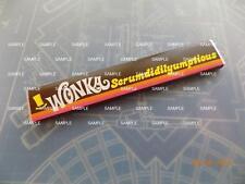 Willy Wonka & Chocolate Factory Replica Scrumdiddlyumptious Bar