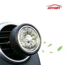 2PCS Car Air Purifier Freshener Sea Breeze Aroma Spinning Tire Shape Diffuser US