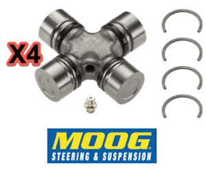 4 Driveshaft Universal Joints MOOG for AMC Chrysler Dodge Jeep Plymouth Pontiac