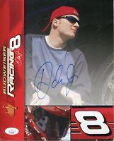 Dale Earnhardt Jr. NASCAR Driver Champ Budweiser Rare Signed Autograph Photo JSA