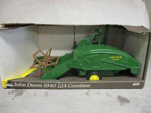 "(1991) Ertl John Deere Model 12A Toy Combine ""Blueprint Replica"" 1/16 Scale, NIB"