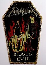 nifelheim black evil coffin  WOVEN  PATCH