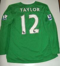 Stuart Taylor Game Worn 09/10 Season Manchester City Keepers Shirt AFTAL/UACC RD