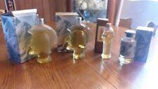 vintage avon horsemen decanters lot