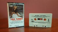 TINA TURNER PRIVATE DANCER CASSETTE TAPE- CAPITOL- 1984