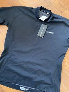 Adidas Terrex Agravic Windshirt Running Hiking Shirt Men's Large $149.00 AZ2175