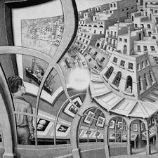 Escher # 09 cm 35x35 Poster Stampa Grafica Printing Digital Fine Art papiarte