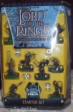 LORD OF THE RINGS - COMBAT HEX STARTER SET - MINIATURES GAME MIDDLE EARTH FIGUR