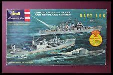 Revell Guided Missile Fleet and Seaplane Tender Model Kit Sealed Bags
