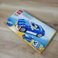 Lego Creator 6913 Blue Roadster - BNIB