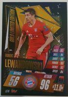 2020/21 Match Attax UEFA - Lewandowski Gold Limited Edition LE7G Bayern Munich