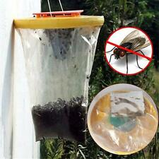 1*Red Drosophila Fly Trap Top Catcher The Ultimate Fly Catcher Insect Bug Killer