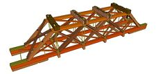 Bridge - 70' Timber Truss Deck Plan-Set for Large and other Popular Scales