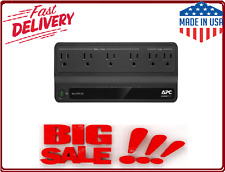 Ups Apc Battery Backup Surge Protector 6 Power Outlet 450Va 5 inch Power Cord