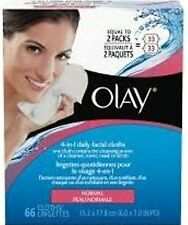Olay 4-in-1 Daily Facial Cloths, 66 Ct (Pack of 12)