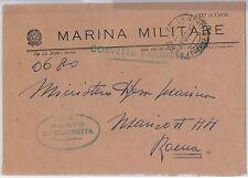 ITALIA  - FRANCHIGIA MILITARE: MARINA - Nave : CORVETTA BAIONETTA
