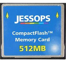 512mb Compact Flash Memory Card Camera Computer Media Card