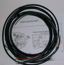 IMPIANTO ELETTRICO ELECTRICAL WIRING VESPA 50 SPECIAL ELESTART+SCHEMA ELETTRICO