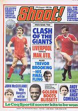 LIVERPOOL / MAN UTD / LUTHER BLISSETT / JOHN MCCLELLEANDShoot 27 Aug 1983