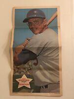 1968 Topps Poster Pin-Up Frank Howard #3 EX-NM - Wash Senators