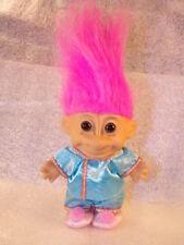 Vintage Russ 5'' China Chinese Pink Hair Around the World Nice Shape